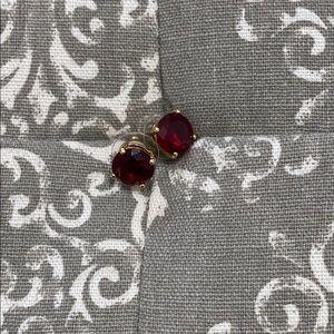 Ruby Red Kate Spade Earrings